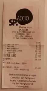il conto